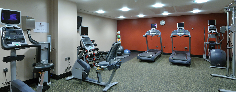 Im Fitness Center des Hotels können Sie trainieren