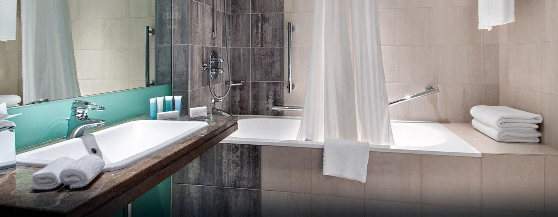 Im barrierefreiem Badezimmer können Sie entspannen