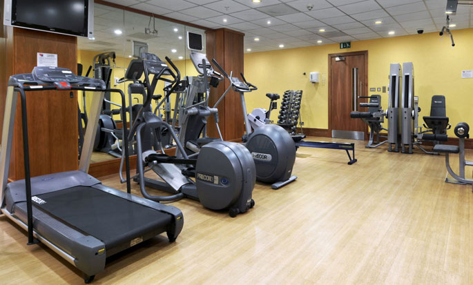 Hilton London Canary Wharf hotel, UK - Fitness Center