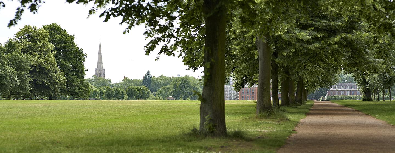 Der Hyde Park befindet sich in unmittelbarer Nähe des Hotels