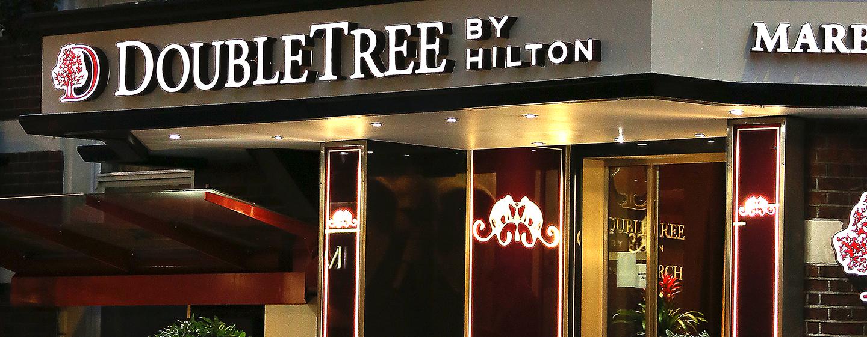 Das DoubleTree by Hilton London–Marble Arch Hotel heißt Sie im Stadtteil West End willkommen