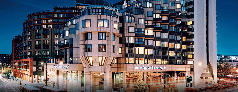 Herzlich willkommen im Hilton London Metropole