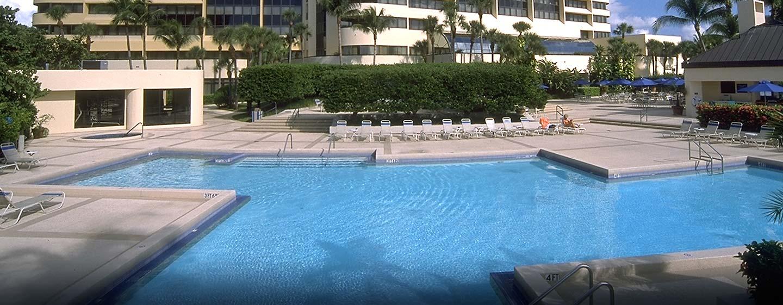 Hilton Miami Airport Hotel, Florida – Außenpool