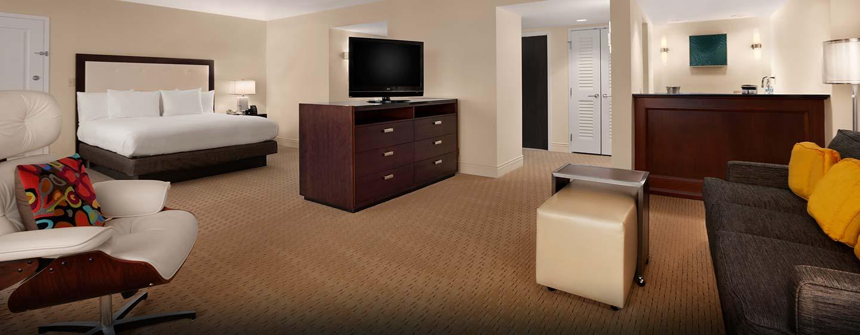 Hilton Deluxe Zimmer