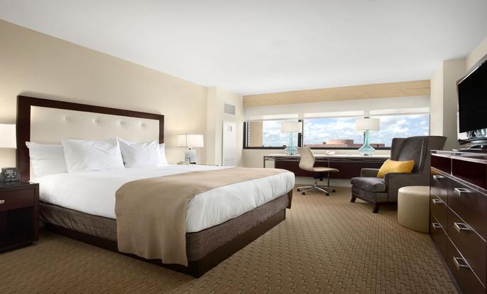 Hilton Miami Airport Hotel – Zimmer mit King-Size-Bett