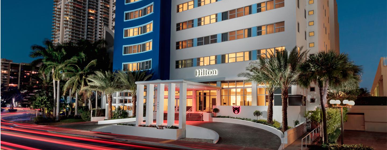 Herzlich willkommen im neuen und modernen Hotel am Strand von Miami