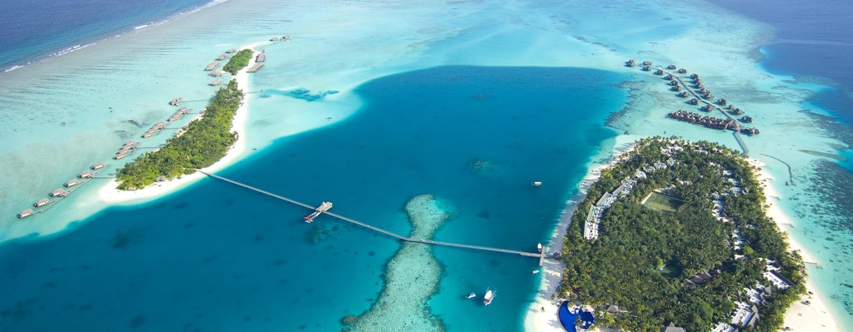 Conrad Malediven - Luftansicht