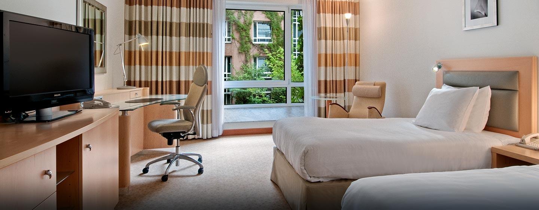 Hilton Munich City Hotel - Zweibettzimmer
