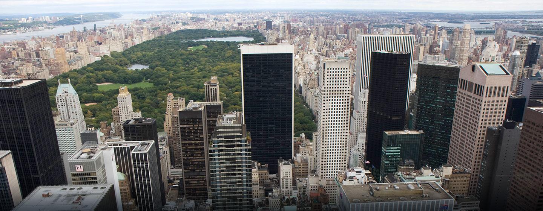 Skyline von NYC und Central Park