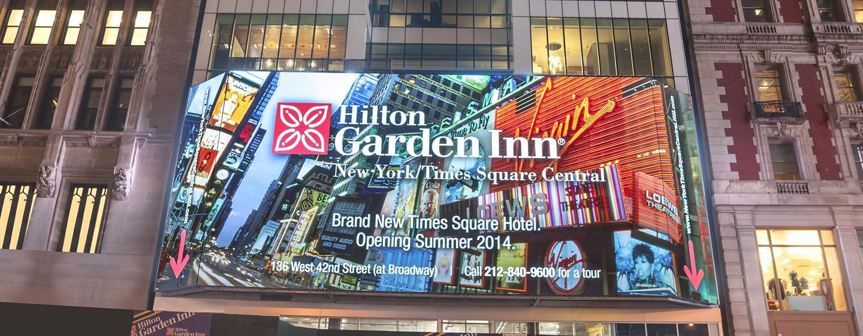 Hilton Garden Inn New York Times Square, New York – Außenansicht