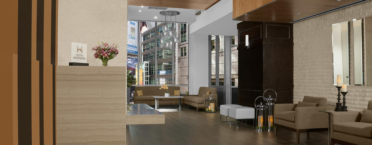 Hilton Garden Inn New York/Times Square Central Hotel, New York – Lobby-Bereich