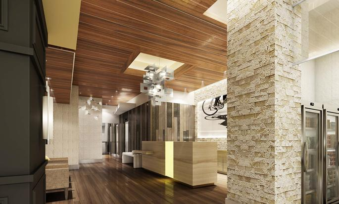 Hilton Garden Inn New York Times Square, New York – Lobby
