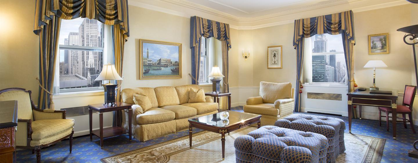 Waldorf Astoria New York - Signature Suite
