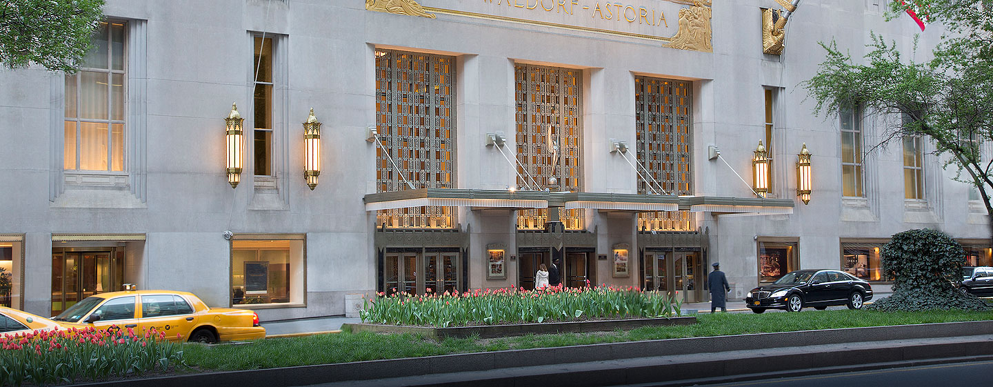 Waldorf Astoria New York - Park Avenue Eingang