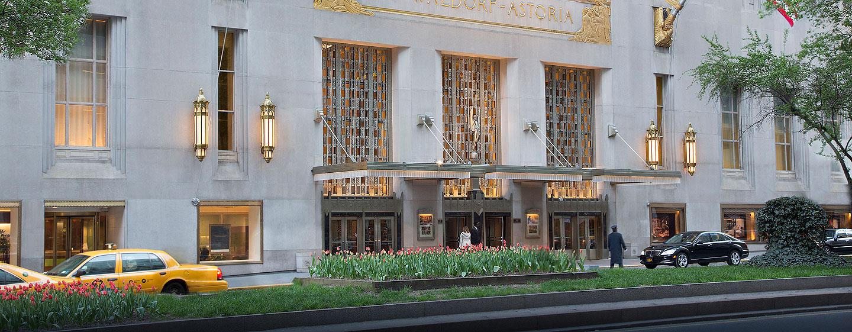 Waldorf Astoria New York - Park Avenue Eingang