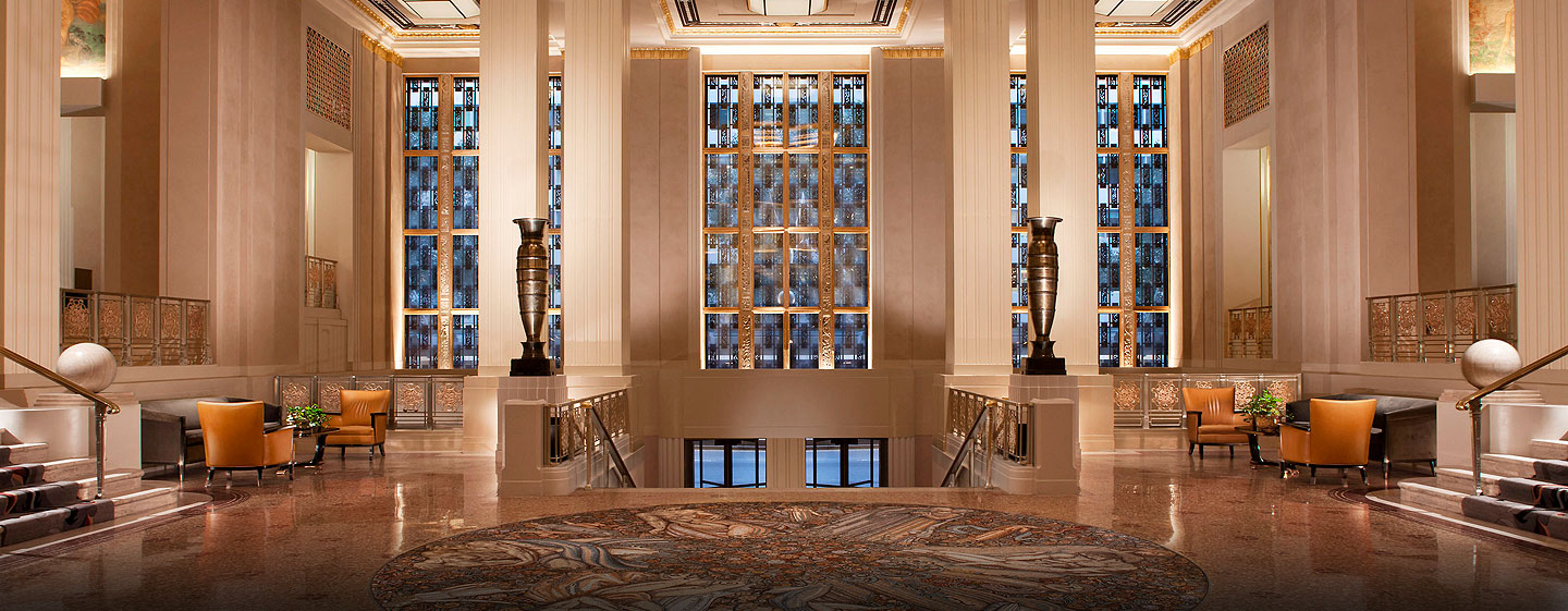 Waldorf Astoria New York - Lobby