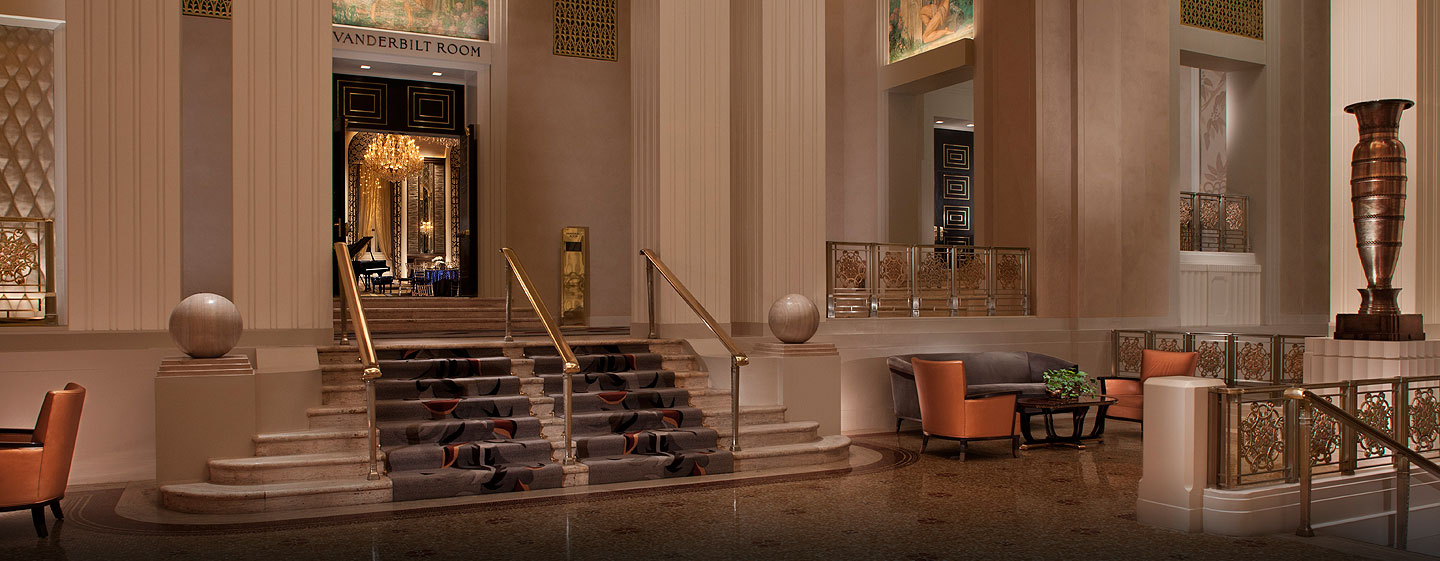 Waldorf Astoria New York - Park Avenue Lobby