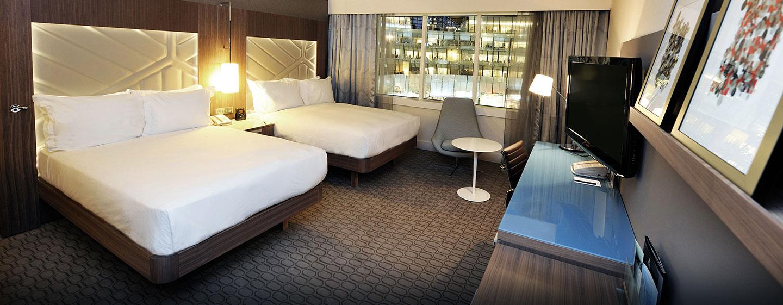 Deluxe Zimmer mit zwei Doppelbetten