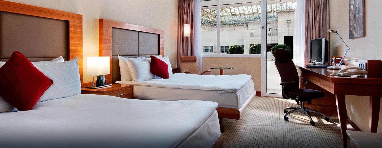 Doppelzimmer mit Queen-Size-Betten