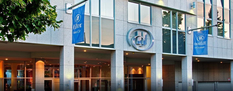 Hilton Mainz City Hotel - Außenansicht