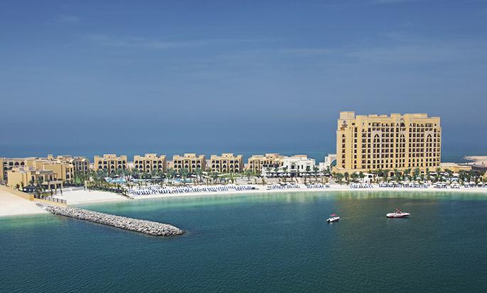 DoubleTree by Hilton Resort & Spa Marjan Island, Ras Al Khaimah, VAE – Luftansicht