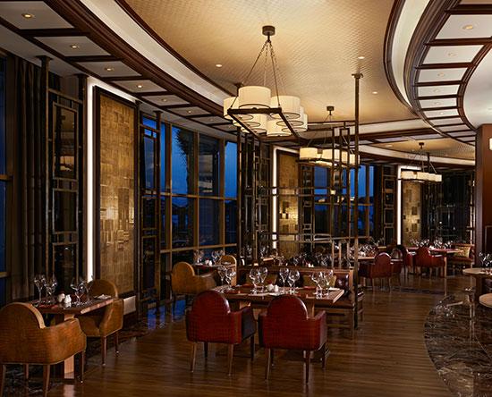 Waldorf Astoria Ras Al Khaimah hotel, VAE - Lexington Grill Restaurant