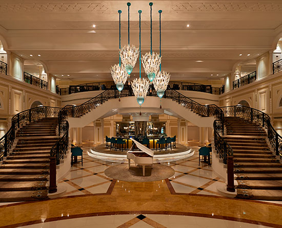 Waldorf Astoria Ras Al Khaimah hotel, VAE - Peacock Alley Restaurant