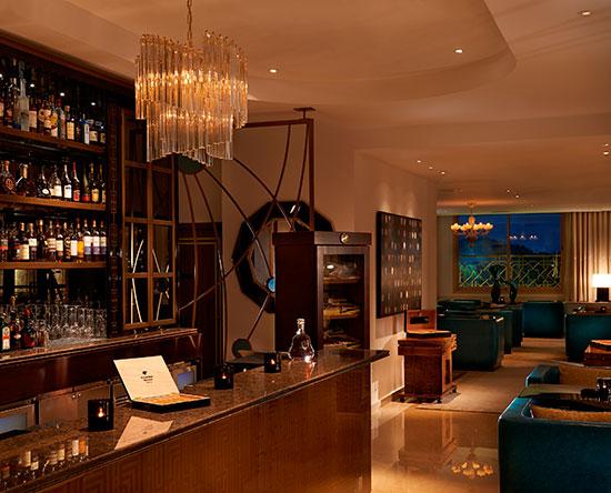 Waldorf Astoria Ras Al Khaimah hotel, VAE - Cigar Bar