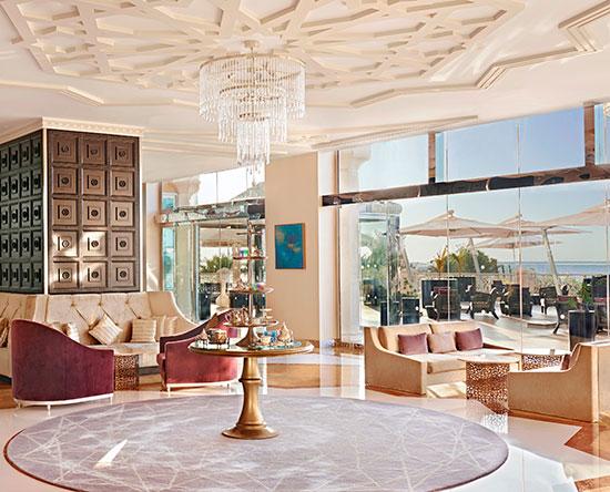 Waldorf Astoria Ras Al Khaimah hotel, VAE - Teelounge Camelia