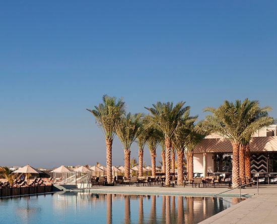 Waldorf Astoria Ras Al Khaimah hotel, VAE - Freiluftbar AlFayrouz