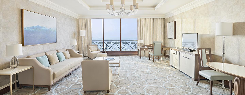 In der großen Suite können Sie sich Dank guter Austattung wie zu Hause fühlen