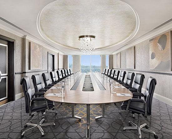 Waldorf Astoria Ras Al Khaimah hotel, VAE - Kleine Meetings