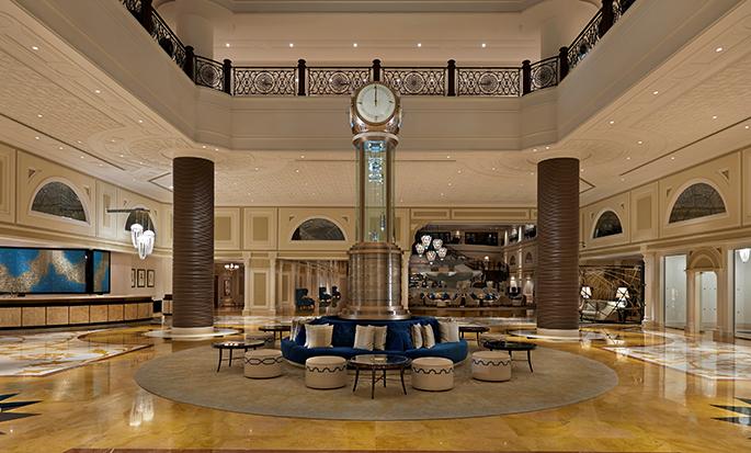 Waldorf Astoria Ras Al Khaimah hotel, VAE - Waldorf Astoria Lobby