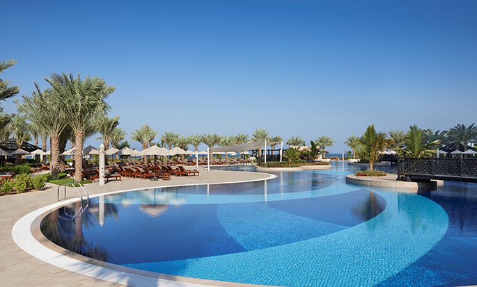Waldorf Astoria Ras Al Khaimah hotel, VAE - Swimmingpool