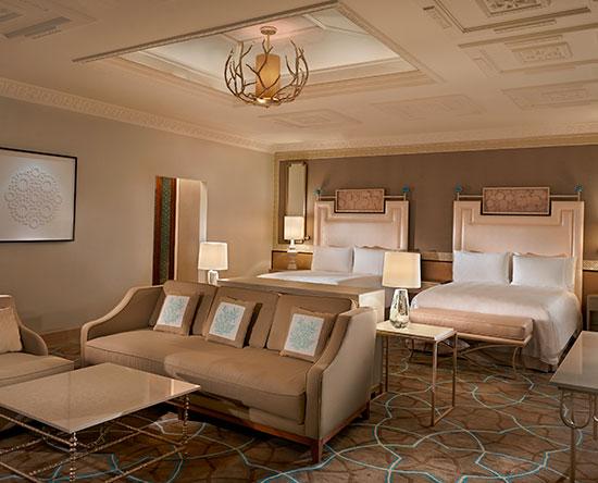 Waldorf Astoria Ras Al Khaimah hotel, VAE - Classic Zimmer mit zwei Queen-Size-Betten