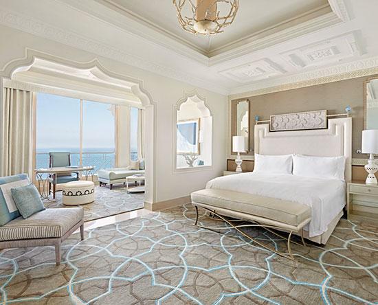 Waldorf Astoria Ras Al Khaimah hotel, VAE - Junior Suite mit King-Size-Bett und Ausblick