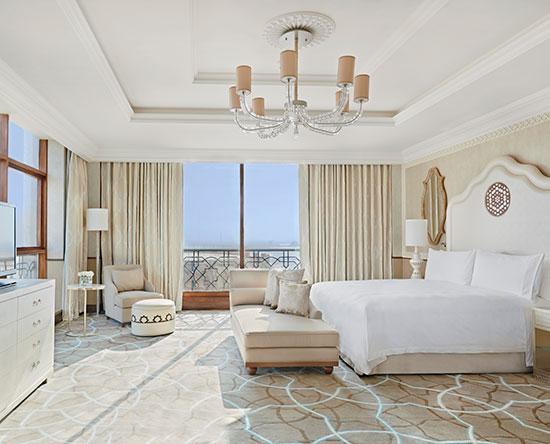Waldorf Astoria Ras Al Khaimah hotel, VAE - Tower Suite mit King-Size-Bett