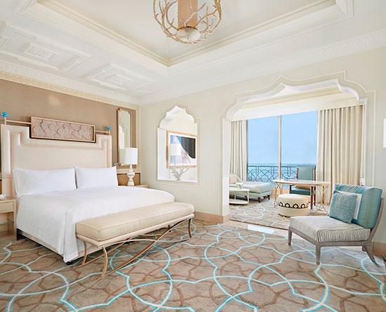 Waldorf Astoria Ras Al Khaimah hotel, VAE - Barrierefreies Classic Zimmer mit King-Size-Bett