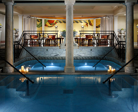 Rome Cavalieri, Waldorf Astoria Hotels and Resorts, Italien - Fitness und Swimmingpool