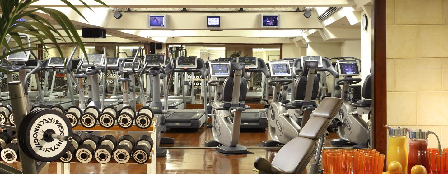 Luxus fitnesscenter  Rome Cavalieri, Waldorf Astoria Hotels & Resorts - Hotel