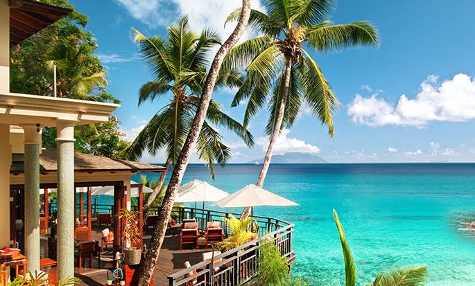 Hilton Seychelles Northolme Resort and Spa– Bar und Restaurant Oceanview