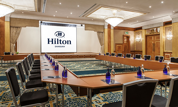 Hilton Sharjah Hotel, UAE - Meeting Room