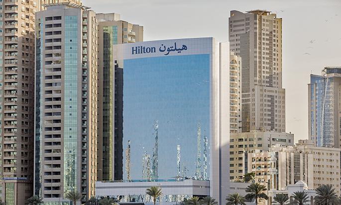 Hilton Sharjah Hotel, UAE - Hotel Exterior