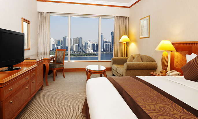 Hilton Sharjah Hotel, UAE - King Hilton Room
