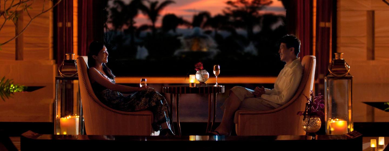 Entspannen Sie am Abend in der Vue Lounge