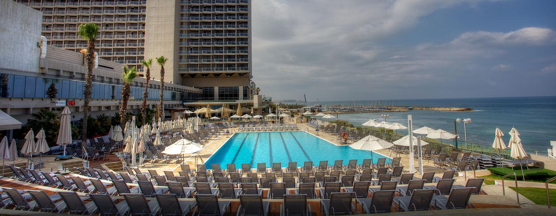 Hilton Tel Aviv Hotel, Israel – Außenansicht
