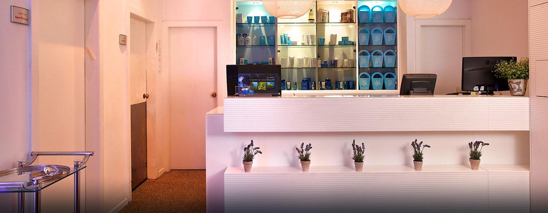 Hilton Tel Aviv Hotel, Israel – Eingang zum Spa Cybex
