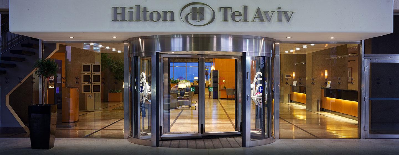 Hilton Tel Aviv Hotel, Israel – Hoteleingang