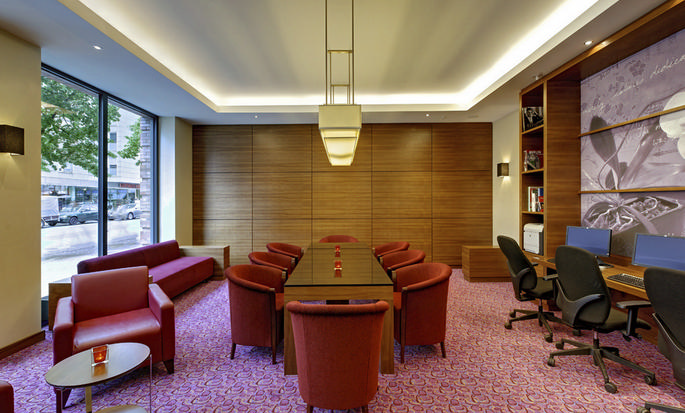 Hampton by Hilton Berlin City West, Deutschland – Business Center