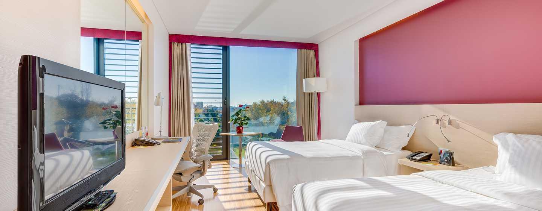 Hilton Garden Inn Venice Mestre SanGiuliano Hotel, Italien– Evolution Superior Zimmer mit zweiQueen-Size-Betten